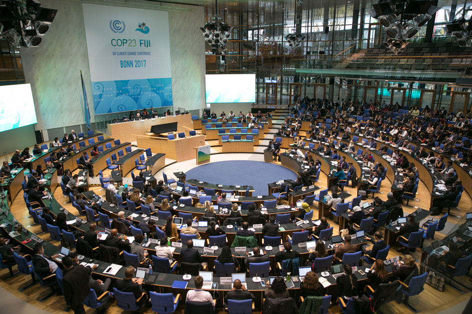 Climate negotiations during COP23 in Bonn