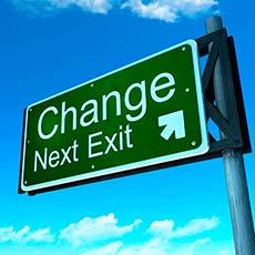 Change: Next exit